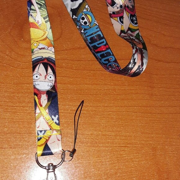 Best Japanese Anime TV Series One Piece Characters Cell phone Holder Lanyard A